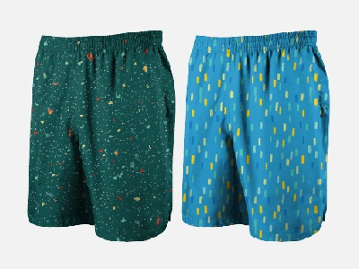Swimming Trunks 1 texture terrazzo swimshorts textile print vector textile design textile pattern illustration