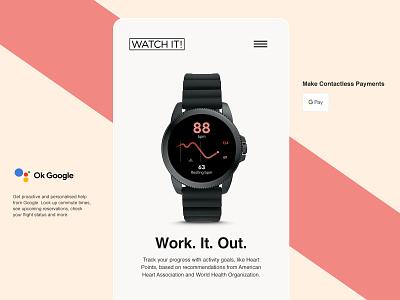 Watch It Smartphone Mobile Screen design digital mobile ecommerce shop ecommerce digital design ux interface ui