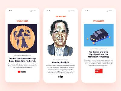 Obsession App Concept app mobile designer editorial mobile design mobile concept digital design webdesign ux ui