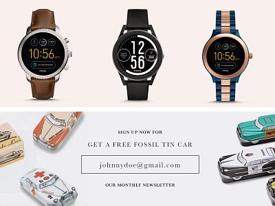 Newsletter Sign Up web design ecommerce webdesign digital design interface mockup ux ui direction design concept