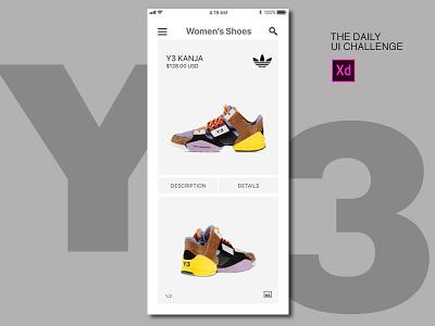 Mobile E-commerce Product Concept app ecommerce mobile concept ux mockup digital design interface ui