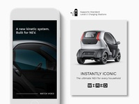 Mobile Design Elements for Electric Vehicle