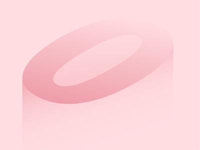 O typography illustration vector illustration art