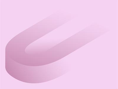 U designer animation typography illuatration illustration art design illustrator dribbble vector illustration