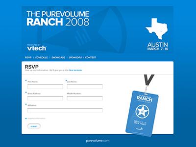 PureVolume Ranch 2008