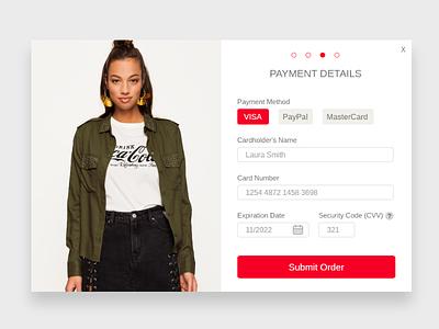 Checkout checkout ui fashion shopping ui shopping cart ui design daily ui payment