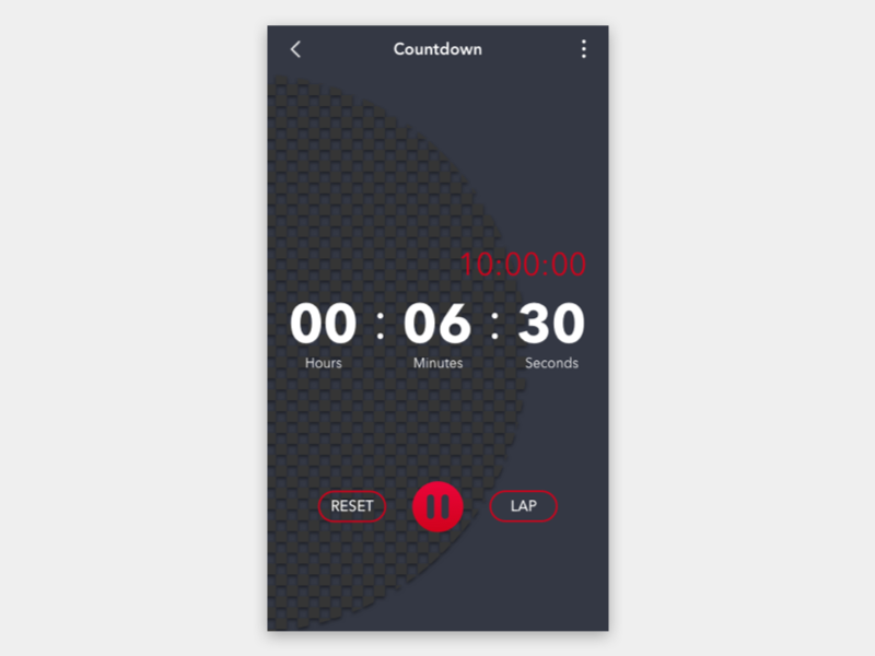 Countdown timer   gelso designs