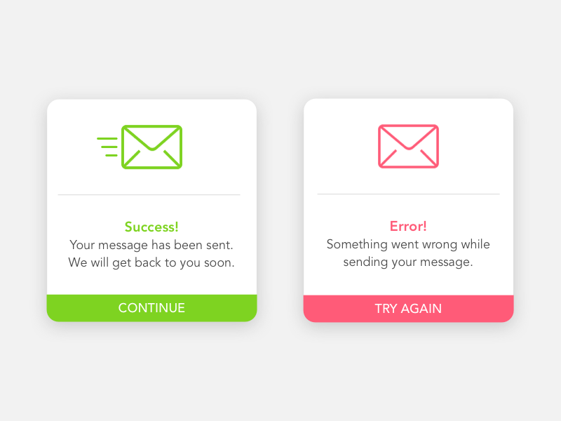 Alert Message   Gelso Designs error message dailyui interface ui colorful flash message alert
