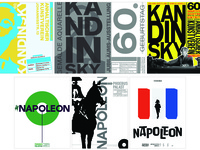 Famous Design Poster Redesigns