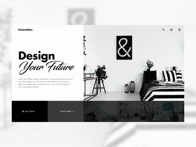 Minimal Interior Design UI