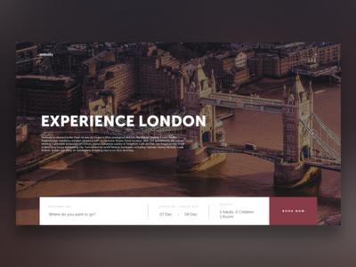 Experience London Travel UI