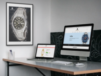 Rubicon Watch Company Ecommerce Website Design