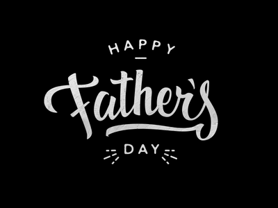 Father's Day Lettering