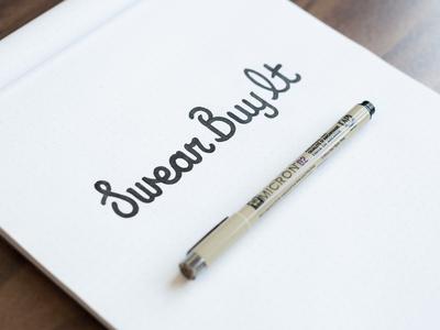Swear Buy It Logo Sketch