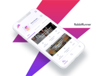 Rabbit Runner App Ui design