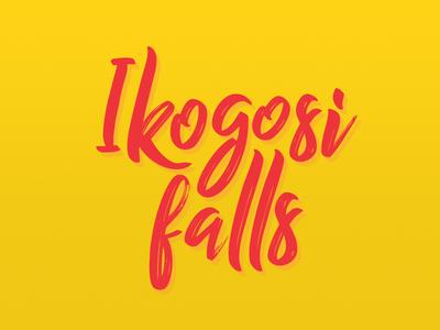 Ikogosi falls