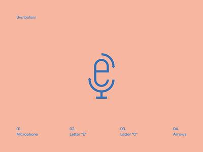 Microphone Icon iconography live voice icon c e letter c letter e icones icone microfone microphone