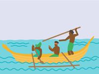 Polynesian Fisherman