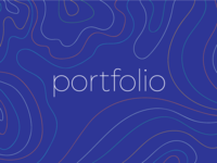 My animated portfolio