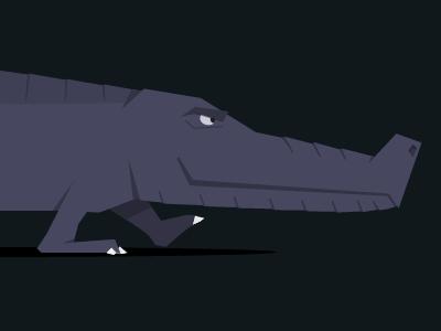 Gator! illustration mograph mentor