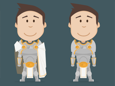 Hero - Work in Progress illustration hero character mograph mentor