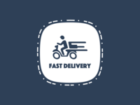 Fast Delivery Badge