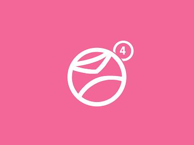 4 Dribbble Invites invite invites dribbble available minimalist flat design logo mail notification envelope