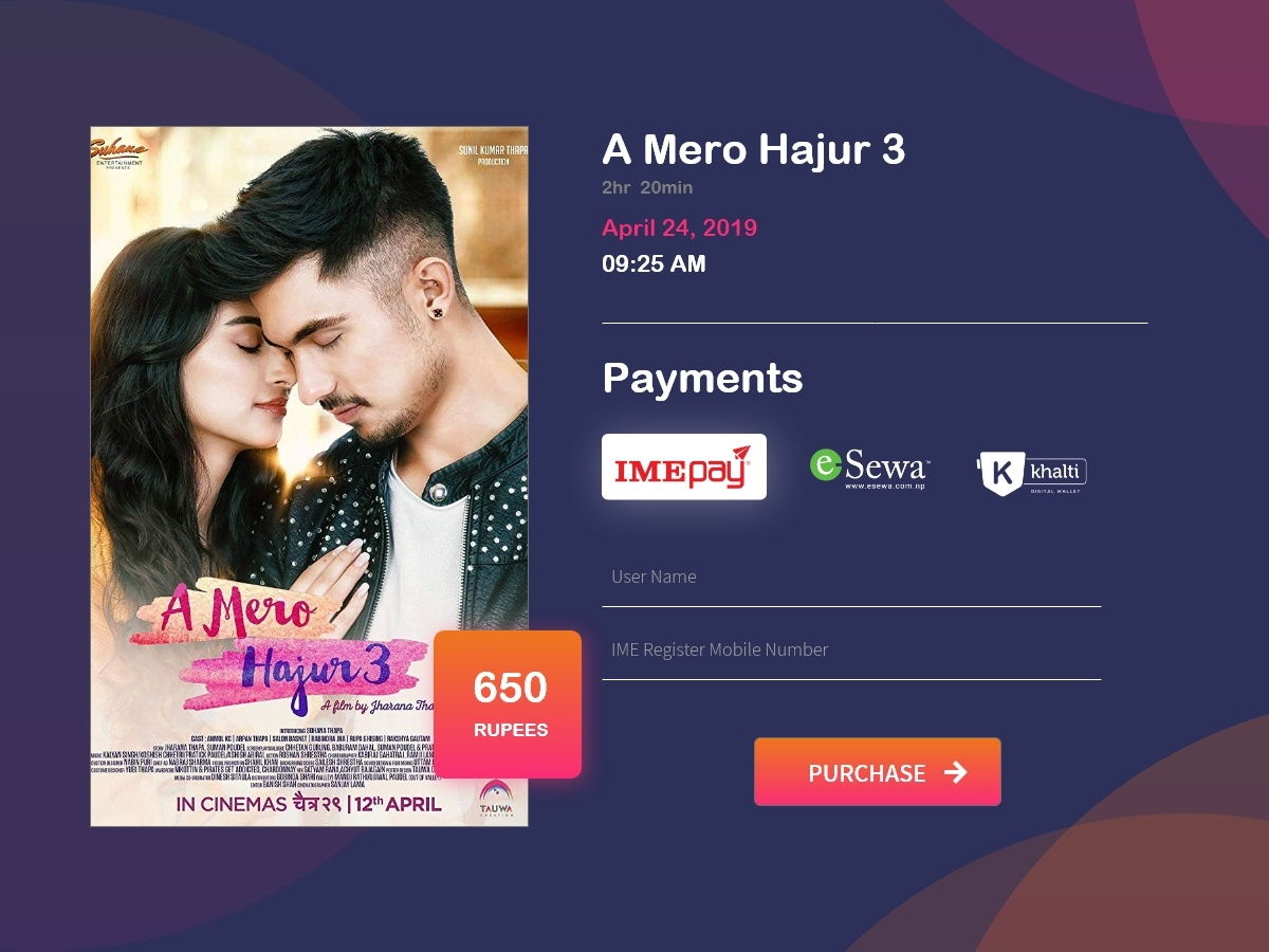 Credit Card Checkout nepalimovie 002 daily 100 challenge dailui