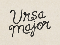 Ursa Major WIP