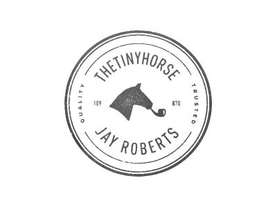 thetinyhorse seal branding identity mark thetinyhorse seal