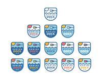 Rowing dock colors