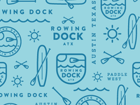 Rowing Dock pattern