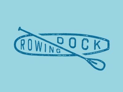 RD Sup branding lockup sup paddle lake water