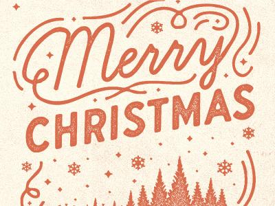 Christmas Card christmas card snow holiday vintage