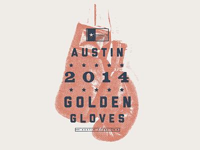 ATX Golden Gloves boxing gloves austin golden gloves shirt