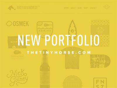 New Site! site portfolio web