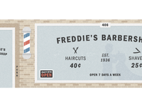 Freddie's Barbershop - Franklin Hero