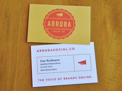 Arroba cards