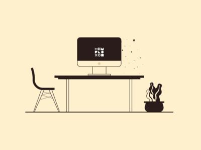 Desk Scene—Making Magic
