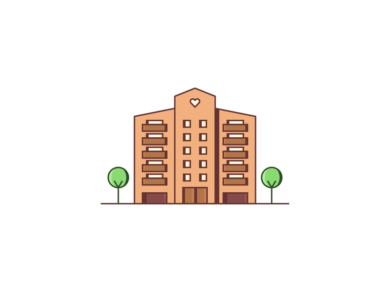 Flats — Building Illos
