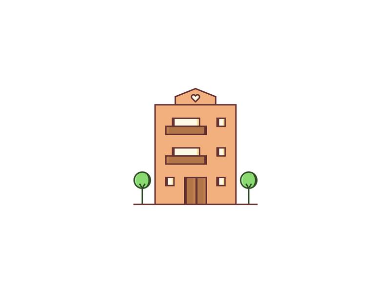 Terrace — Building Illos