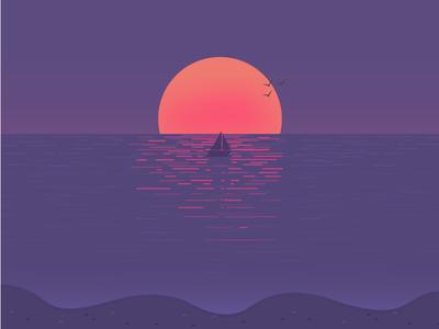 Marmalade Sunset