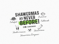 Shawermania Branding