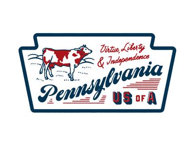 Pennsylvania Cow Patch