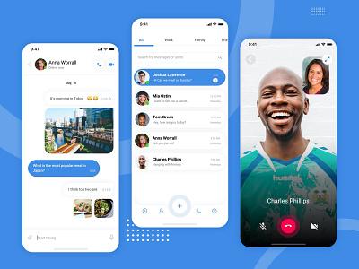 Telegram Redesign redesign contest telegram sketch inspiration modern ui ux concept product design