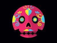 Day of the Dead - Skull 02