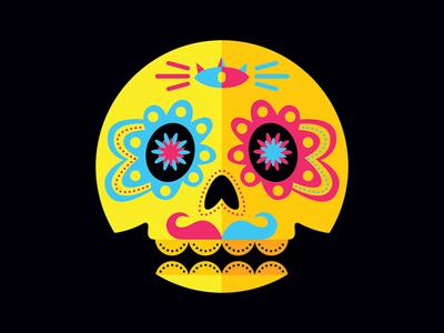 Day of the Dead - Skull 03