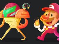 Four games - Nintendo