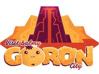 Travel Sticker - Goron City