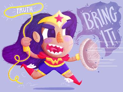 Wonder Woman is Rad